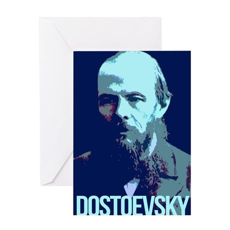 Fyodor Dostoevsky Greeting Card