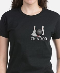 Club 300 Logo 1 Tee Design Front