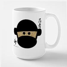 Sock Monkey Ninja Large Mug