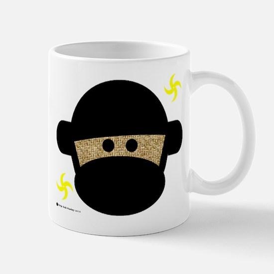 Sock Monkey Ninja Mug