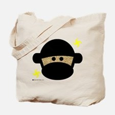Sock Monkey Ninja Tote Bag