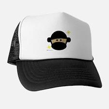 Sock Monkey Ninja Trucker Hat