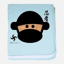 Sock Monkey Ninja Infant Blanket