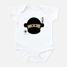 Sock Monkey Ninja Infant Bodysuit