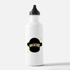 Sock Monkey Ninja Water Bottle