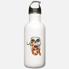 Scary Snake Skull Water Bottle