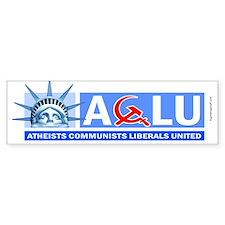 A-C-L-U ver.2 Bumper Bumper Sticker
