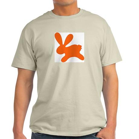 Rabbit O Ash Grey T-Shirt