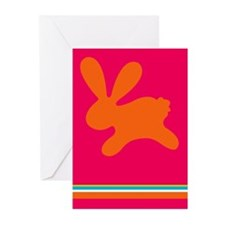 Rabbit O Greeting Cards (Pk of 10)