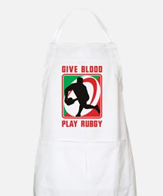 Rugby player pass Apron