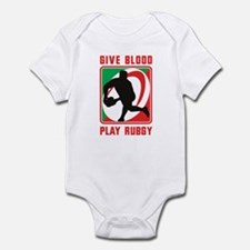 Rugby player pass Infant Bodysuit