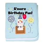 S'more Birthday Fun Infant Blanket