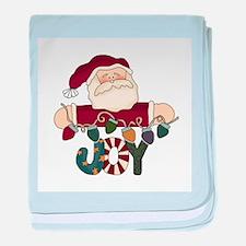 Santa Joy Infant Blanket