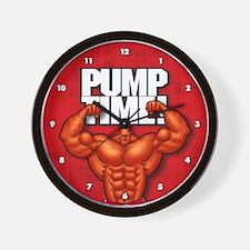 Pump Time! - Wall Clock