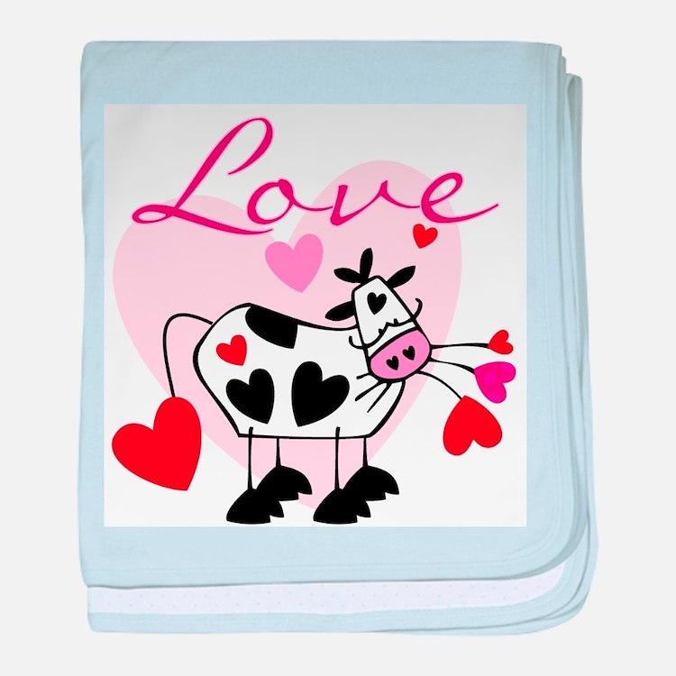 Mooey Love Infant Blanket