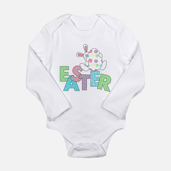Bunny With Easter Egg Onesie Romper Suit