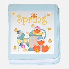 Ducky Spring Infant Blanket