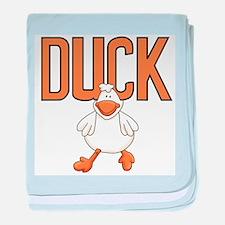 Duck Animal Infant Blanket