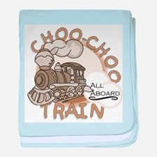 Choo Choo Train Infant Blanket