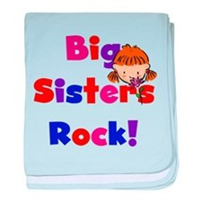 Big Sisters Rock Infant Blanket