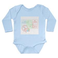Dreams of Peace Long Sleeve Infant Bodysuit