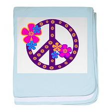 Peace Sign Infant Blanket