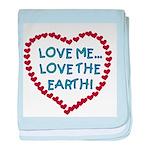 Love Me, Love the Earth Infant Blanket