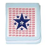 USA All Over Infant Blanket
