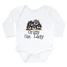 Crazy Cat Lady Long Sleeve Infant Bodysuit