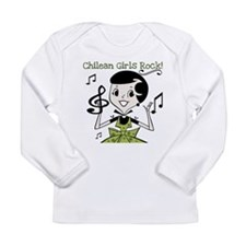 Chilean Girls Rock Long Sleeve Infant T-Shirt