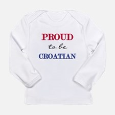 Croatian Pride Long Sleeve Infant T-Shirt