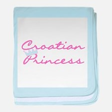 Croatian Princess Infant Blanket