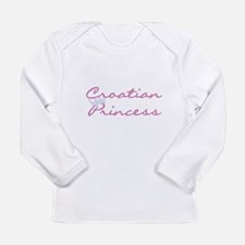 Croatian Princess Long Sleeve Infant T-Shirt