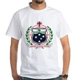Samoan seal Mens White T-shirts
