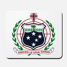 Western Samoa Coat of Arms Mousepad