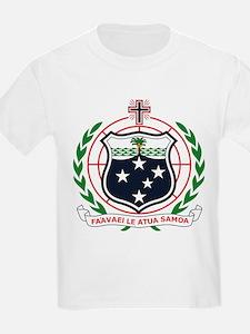 Western Samoa Coat of Arms Kids T-Shirt