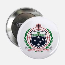 """Western Samoa Coat of Arms 2.25"""" Button (10 pack)"""