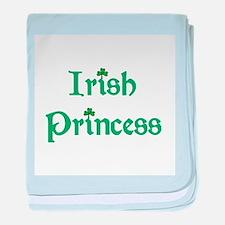Irish Princess Green Infant Blanket
