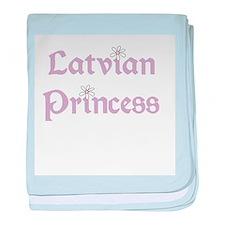 Latvian Princess Infant Blanket