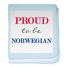 Norwegian Pride Infant Blanket