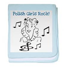 Polish Girls Rock Infant Blanket