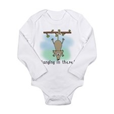 Hanging in There Long Sleeve Infant Bodysuit