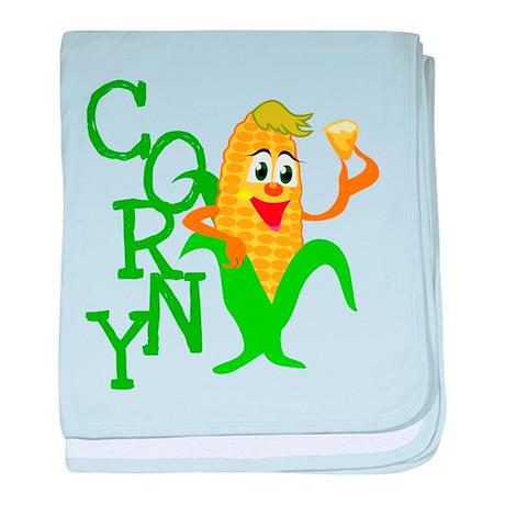Corny Infant Blanket