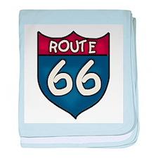 Route 66 Infant Blanket