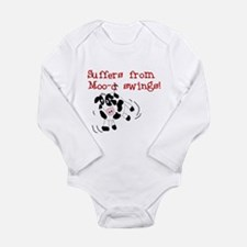 Moo-d Swings Long Sleeve Infant Bodysuit