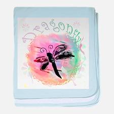 Summer Dragonfly Infant Blanket
