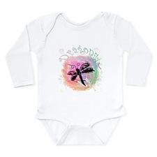 Summer Dragonfly Long Sleeve Infant Bodysuit