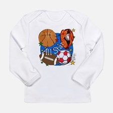 All Star Sports Long Sleeve Infant T-Shirt