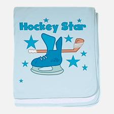 Hockey Star Infant Blanket