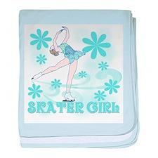 Skater Girl Infant Blanket